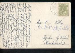 Berge - Langebalk - 1917 - Postal History