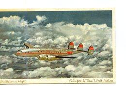 POSTAL. POSTCARD. AVION. PLANE. AIRPLANE. 1925. TWA. TRANS WORLD AIRLINE. - NTVG. - 1919-1938: Fra Le Due Guerre