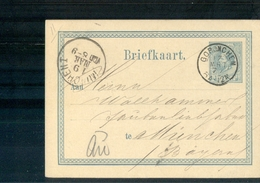 Gorinchem Kleinrond - 1877 - Geuzendam - Postal History