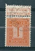 108 Gestempeld  WEVELGHEM - COBA 8 Euro - 1912 Pellens