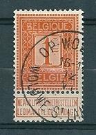 108 Gestempeld  OP-WOLUWE - WOLUWE - ST-LAMBERT - COBA 8 Euro - 1912 Pellens