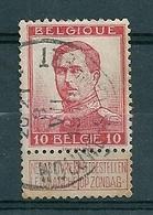 118 Gestempeld  OP-WOLUWE - WOLUWE - ST-LAMBERT - COBA 8 Euro - 1912 Pellens