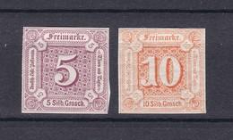 Thurn Und Taxis - 1859/61 - Michel Nr. 18/19 - Ungebr. - Thurn Und Taxis