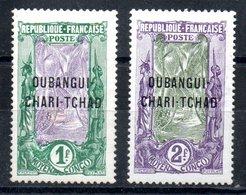 Oubangui-Chari-Tchad Y&T 15*, 16* - Oubangui (1915-1936)