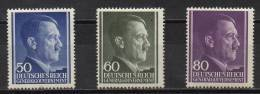 Generalgouvernement - 1943 - Michel N° 110 à 112 * - 1939-44: World War Two