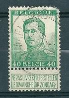 121 Gestempeld  WIJCHMAEL BRABANT - COBA 8 Euro (zie Opm) - 1912 Pellens