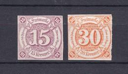 Thurn Und Taxis - 1859/61 - Michel Nr. 24/25 - Ungebr./Postfrisch - Thurn Und Taxis