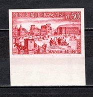 FRANCE  N° 1294a  NON DENTELE NEUF SANS CHARNIERE  COTE 30.00€   DEAUVILLE - Frankreich