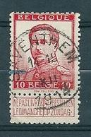 118 Gestempeld SAVENTHEM - COBA 4 Euro (zie Opm) - 1912 Pellens