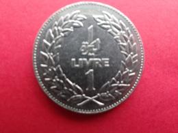 Liban  1 Livre  1980 Km 30 - Liban