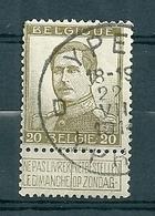 119 Gestempeld YPER - YPRES D - 1912 Pellens