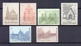 2217/22 Toeristische Reeks ONGETAND POSTFRIS** 1986 - Belgium