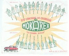 Buvard MOKAREX 3 ème Grand Concours De Coloriage Série Louis XIV Louis XV - Kaffee & Tee