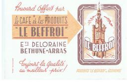 Buvard LE BEFFROI Etablissements DELORAINE Béthune Arras - Café & Thé