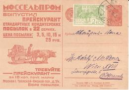 Russia - Stationery - Ox - Oxcart - Wheel - Unclassified