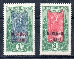 Oubangui-Chari Y&T 40*, 41** - Ungebraucht