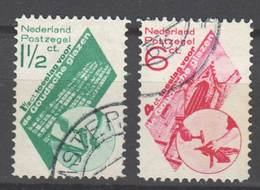 Niederlande , Nr.243-44 Gestempelt - 1891-1948 (Wilhelmine)