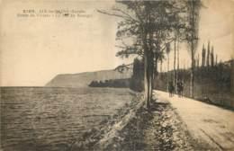 73 - AIX LES BAINS - ROUTE DU VIVIERS - LE LAC DU BOURGET - CACHET MILITAIRE ? PLACE DE CHAMBERY - L. Grimal - 2102 - Aix Les Bains