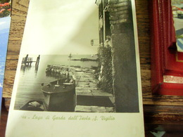 S SAN VIGILIO E LAGO DI GARDA MOTOSCAFO   V1946 HI2694 - Verona