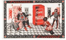 Buvard Café MARSAN Toujours Excellent - Café & Thé