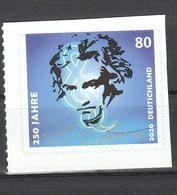 Deutschland BRD  **   3520  Ludwig Van Beethoven Skl Neuausgabe 02.01.2020 - BRD