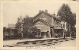 - Allier -ref-C534- Dompierre Sur Besbre - Sept Fons - La Gare Plm - Gares - Ligne De Chemin De Fer - Carte Bon Etat - - Frankrijk