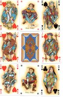 Jeu De 54 Cartes A Jouer - Playing Card BRIDGE - Joker  Jeu Luxe - 54 Cartes