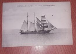 Cpa Granville La Leonne Quittant Le Port Envoi Offert - Granville