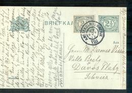 Amsterdam Emmerik VIII Grootrond - 1912 - Postal History