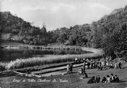 Cartolina Villa Challant St. Victor Lago Animata 1956 - Non Classés