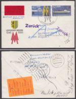 Mi-Nr. U4, Eilboten Mit Div. Stempeln/zurück- Vermerken - DDR