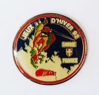 Pin's Jeux D'Hiver 92 Savoie France - A4 - Pins