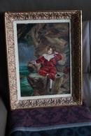 S.Divers,superbe Ancienne Huile Sur Toile ,toile Sur Panneau,dimensions;44 Cm. Sur 34 Cm. - Huiles