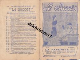"""PARTITION ÉDITIONS MODERNES """"LE SUCCÈS"""" - LA FAVORITE - OPÉRA DE DONIZETTI - Opéra"""