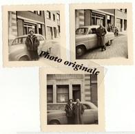 Lot 3 Photos Originales - Autos Voitures Automobiles Cars - Voiture à Identifier - Automobile