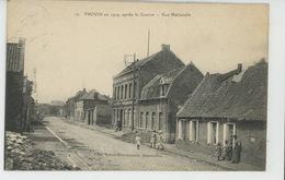 PROVIN En 1919 , Après La Guerre - Rue Nationale - France