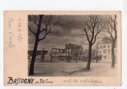 B3 -  BASTOGNE - Cliché D'une Peinture De DEL COUR   -  Militaria  *carte-photo* - Bastogne
