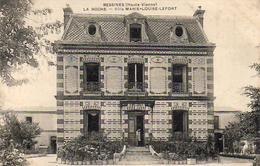 D87 BESSINES  La Roche  Villa Marie Louise Lefort .........  Carte Peu Courante - Bessines Sur Gartempe