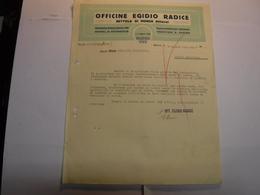BETTOLA DI MONZA   -- MONZA ---    OFFICINE  EGIDIO RADICE - Italy