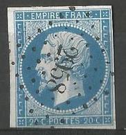 FRANCE - Oblitération Petits Chiffres LP 2958 SUZE-LA-ROUSSE (Drôme) - Storia Postale (Francobolli Sciolti)