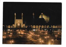 IRAN---NAGHSH-E-JAHAN  SQUARE--( Grande Carte  17.8 Cm + 12.5 Cm )--voir 2 Scans - Iran