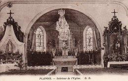 88 -PLANOIS --Intérieur De L'Eglise - ,édit: D.D - Non Classés