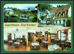 D1166 - TOP Blankenfelde Gaststätte Zur Eiche - Bild Und Heimat Reichenbach - Qualitätskarte - Blankenfelde