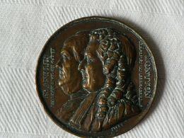 Médaille Bronze Par Barre De FRANKLIN Et MONTYON 1833 - Medals
