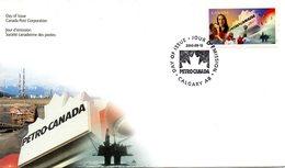 CANADA. N°1817 Sur Enveloppe 1er Jour (FDC) De 2000 Ayant Circulé. Petro-Canada. - Erdöl