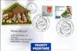 AUTRICHE. Bureau De Poste Noël.Christkindl Post Office.Postamt Christkindl Oberösterreich Letter 2019 - Natale