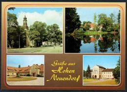D1172 - TOP Hohen Neuendorf Rathaus Kirche - Bild Und Heimat Reichenbach - Qualitätskarte - Hohen Neuendorf