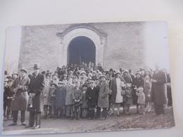 18 - CHER - QUINCY - Saint Vincent Vers 1929 - Carte Photo - Autres Communes