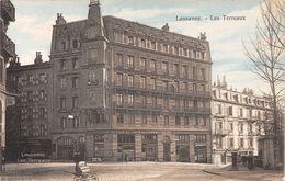 Lausanne - Les Terreaux - Animée - Accordéon D'un Joueur Des Rues. - VD Waadt