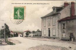 D87 BESSINES Vue Générale De LA ROCHE Près Bessines  .........  Carte Peu Courante - Bessines Sur Gartempe